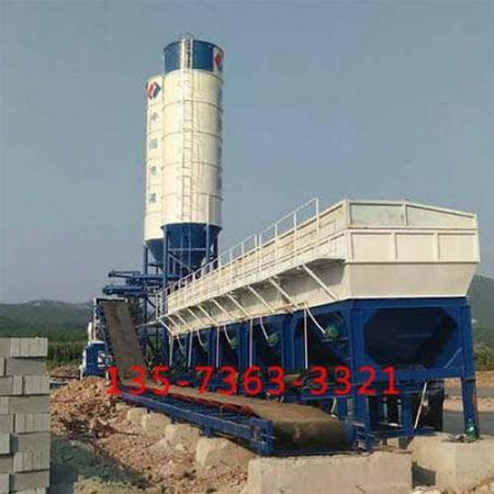 WDJ800二次搅拌(叠加式)米乐官方下载站中国电建邢台工地3